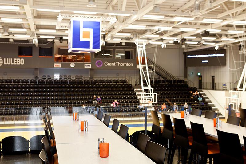 Luleå Energi Arena - interiör